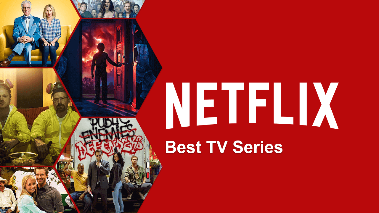 5 most viewed series of Netflix